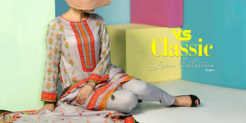 VS Textile Classic Lawn Collection 2019