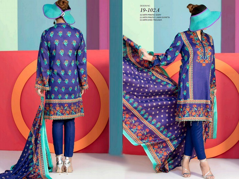 18c44aa78b VS Textile Classic Lawn Collection 2019 | PakStyle Fashion Blog