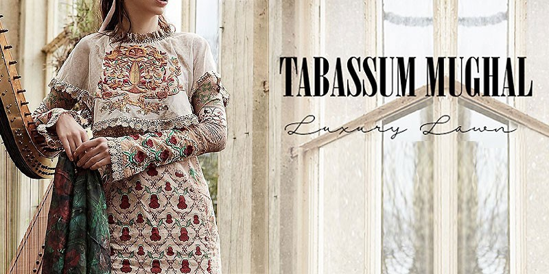 Tabassum Mughal Luxury Lawn Collection 2019