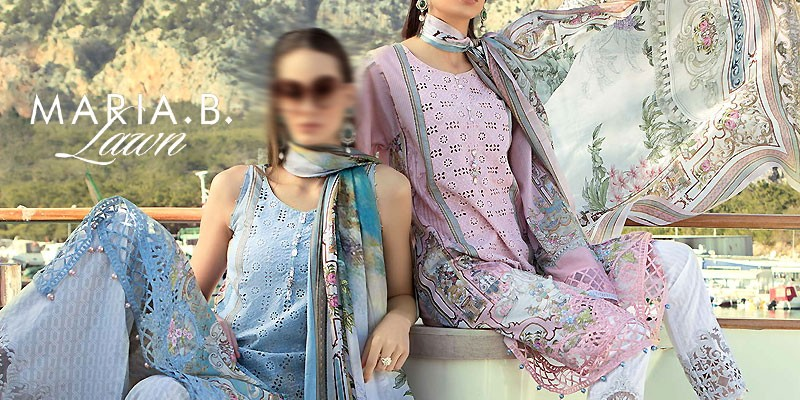 Maria B Unstitched Lawn Collection 2019