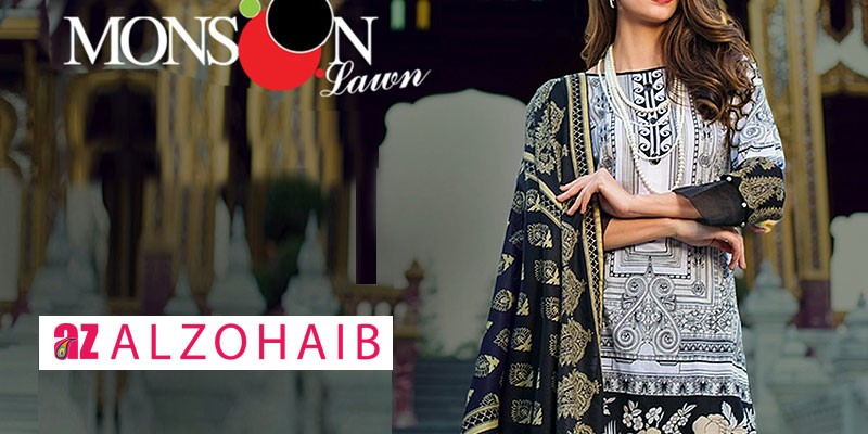 Al-Zohaib Monsoon Lawn Collection 2019