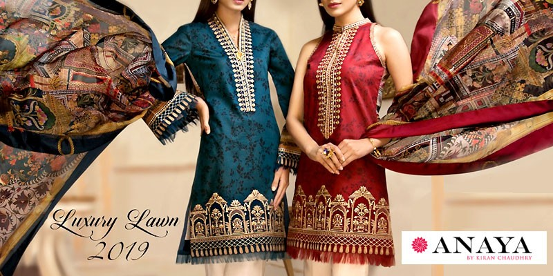 Anaya Luxury Lawn Collection 2019