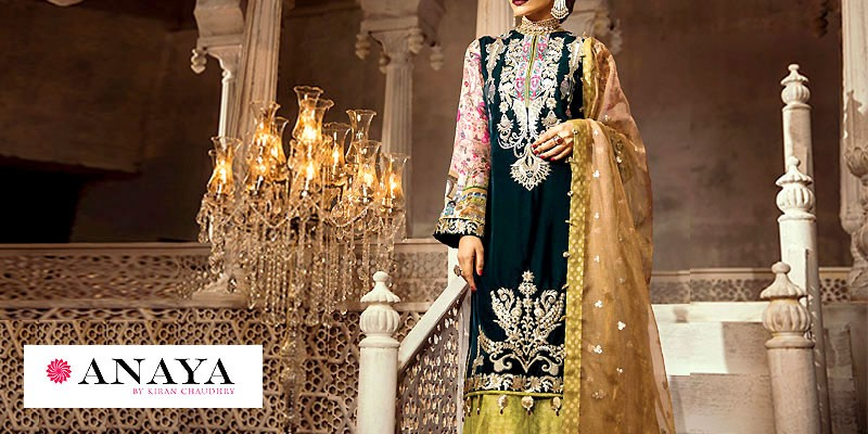 Anaya by Kiran Chaudhry Wedding Collection 2019