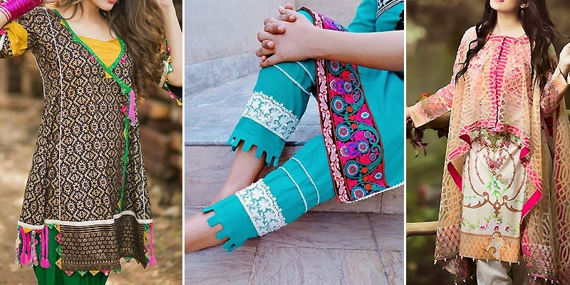 Beautiful Stitching Styles 2019 of Pakistani Dresses