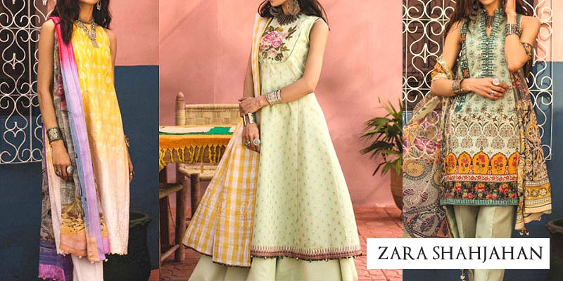 Zara Shahjahan Luxury Lawn Collection 2019