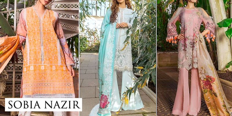 Sobia Nazir Luxury Lawn Collection 2019