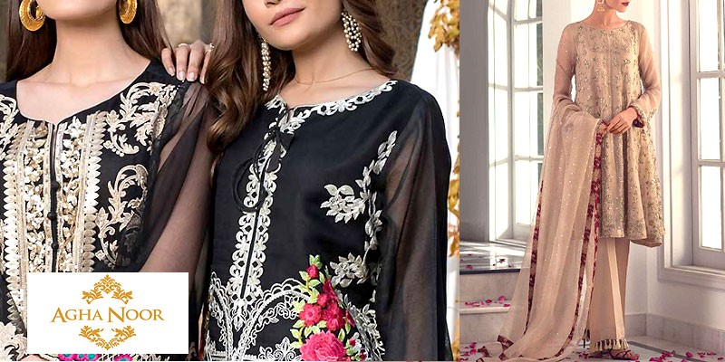 a597c420be Agha Noor Formal Collection 2019 | PakStyle Fashion Blog