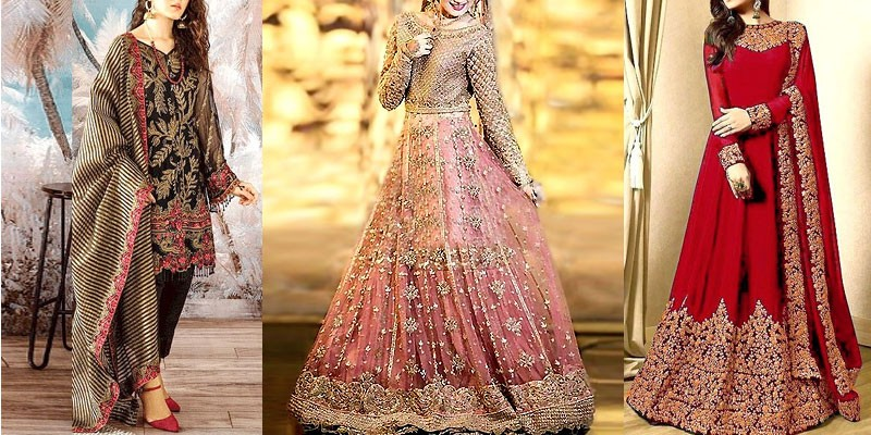 Trendy Pakistani Bridal Dresses Collection 2019-20