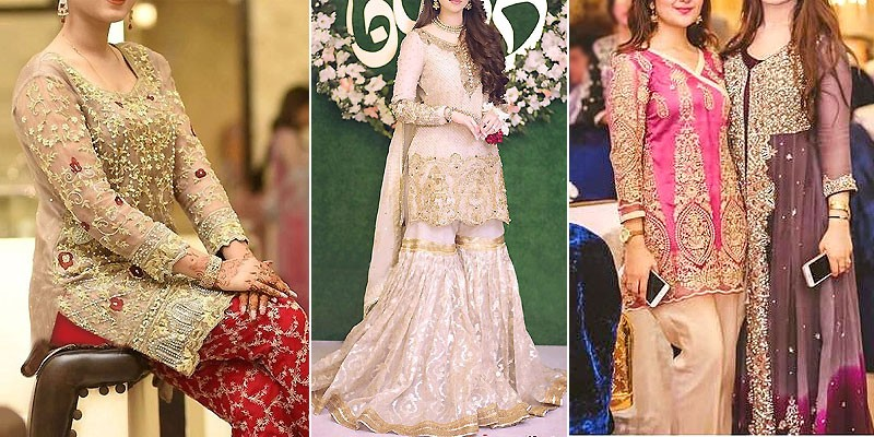 Latest Pakistani Wedding & Party Dresses Collection 2020