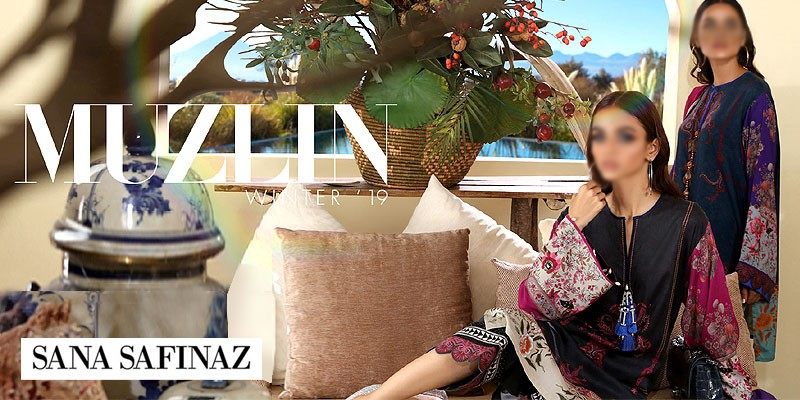 Sana Safinaz Muzlin Winter Collection 2019-20