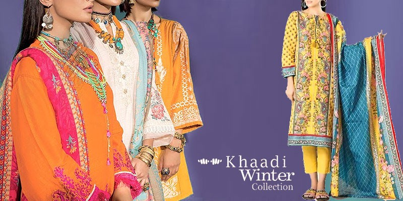 Khaadi Winter Collection 2019-20