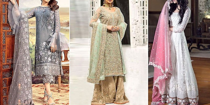 Best Pakistani Walima Dresses Colour Combination