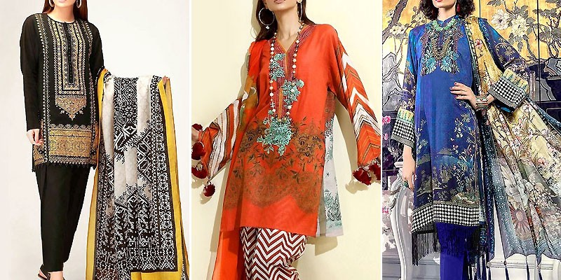 Best Khaddar Dresses Designs 2020 in Pakistan
