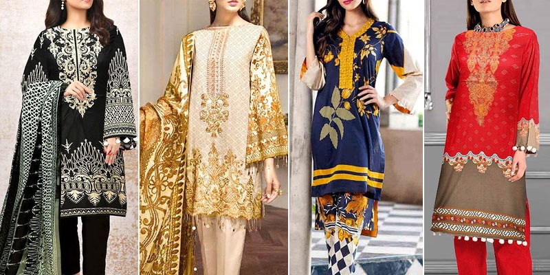 Best Linen Dresses Designs 2020 in Pakistan
