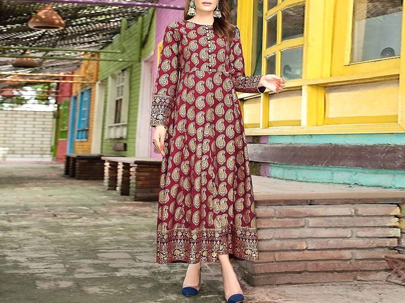 Best Linen Dresses Designs 2019-20 in Pakistan