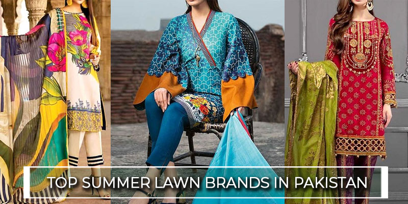 Top Pakistani Lawn Brands & Lawn Designer Names 2020 in Pakistan