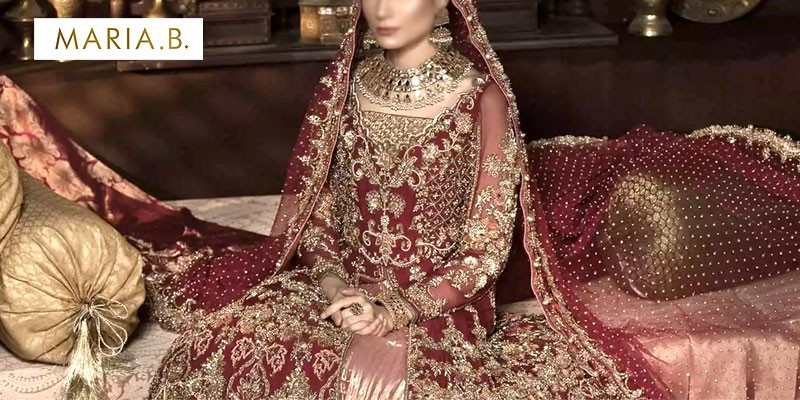 Latest Maria B Bridal Dresses Collection 2020