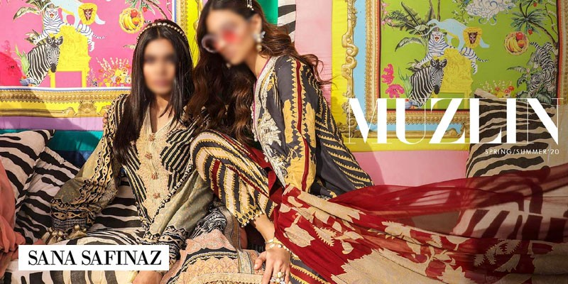 Sana Safinaz Muzlin Spring/Summer Collection 2020