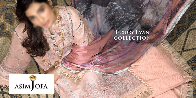 Asim Jofa Luxury Lawn Collection 2020