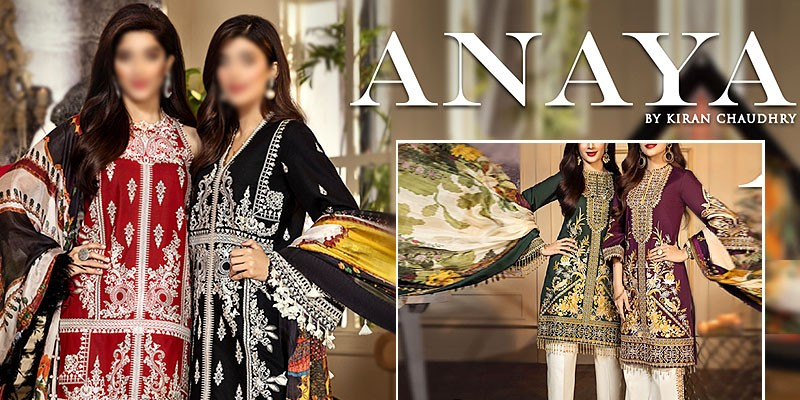 Anaya By Kiran Chaudhry Luxury Lawn Collection 2020