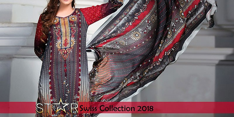 Star Digital Swiss Vol-I 2018 by Naveed Nawaz Textiles