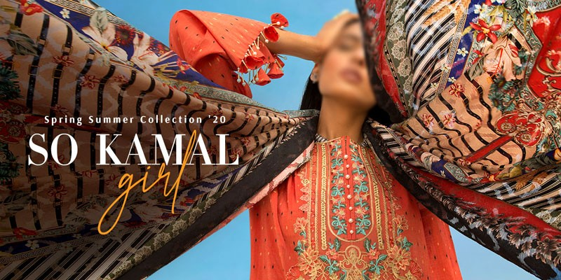 So Kamal Spring/Summer Lawn Collection 2020