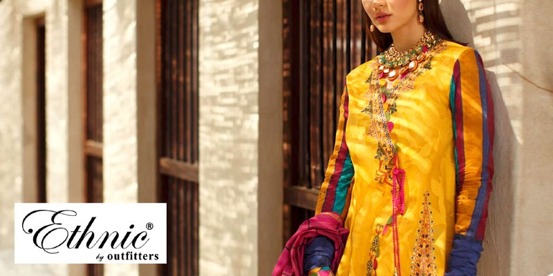 Ethnic by Outfitters Unsitched Summer Collection 2020