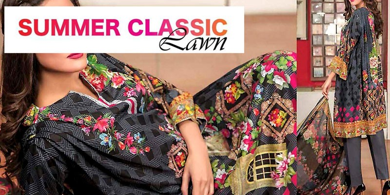 Rashid Textile Classic Lawn Collection 2018