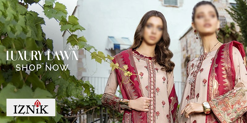 Iznik Luxury Summer Lawn Collection 2020