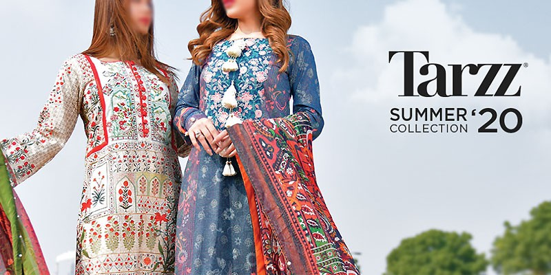 Zyra by Tarzz Summer Lawn Collection 2020