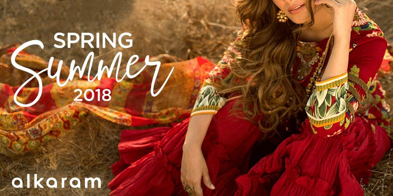 Alkaram Studio Spring Summer Collection 2018 with Prices