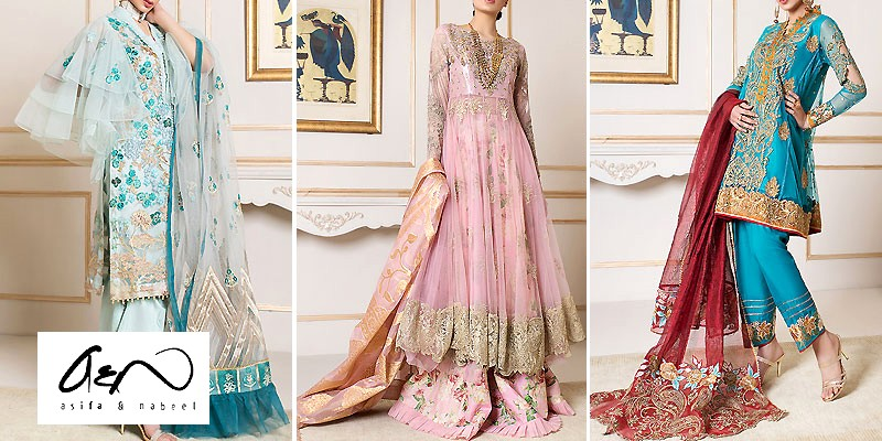 Asifa & Nabeel Spring Festive Collection 2020