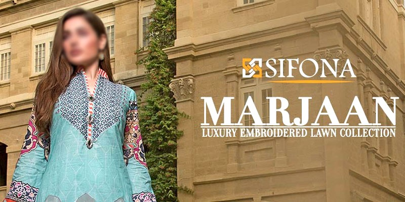 Marjaan by Sifona Embroidered Lawn Collection 2020