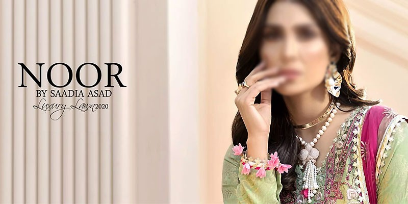 Noor by Saadia Asad Luxury Lawn Collection 2020