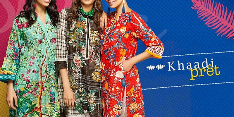 Khaadi Pret Summer Collection 2018