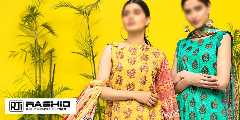 Rashid Textile Spring/Summer Lawn Collection 2020