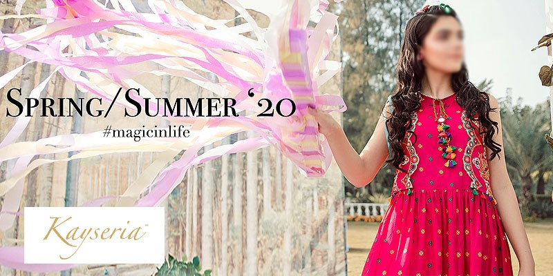 Kayseria Luxury Unstitched Summer Collection 2020