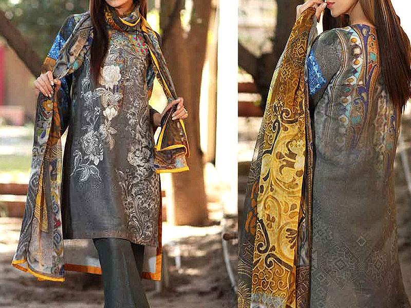 House of Charizma Embroidered Karandi Collection