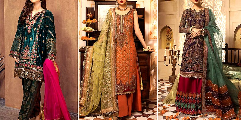 Pakistani Winter Wedding Dresses 2020-2021