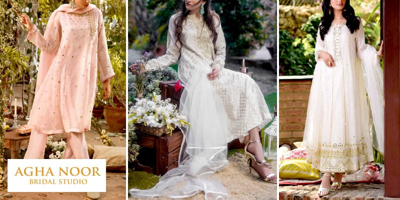 Agha Noor Latest Formal Dresses Collection 2021