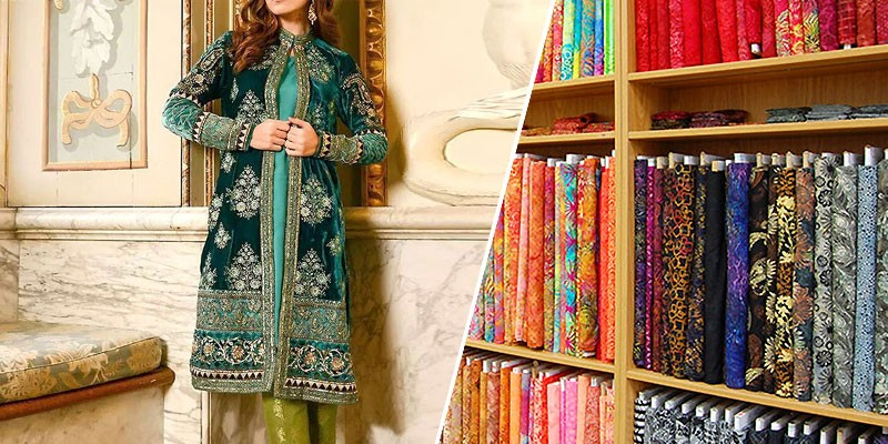 Types of Winter Fabric Used in Women's Dresses in Pakistan