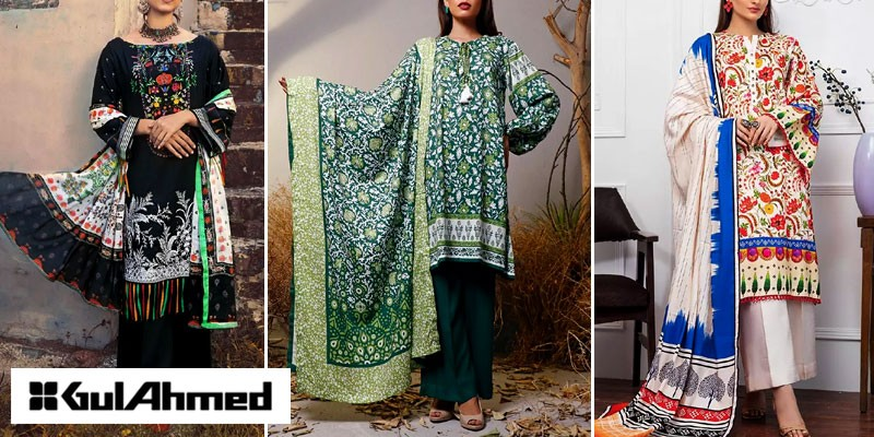 Gul Ahmed Unstitched Winter Collection 2021