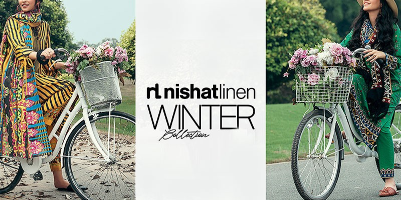 Nishat Linen Unstitched Fall/Winter Collection 2021