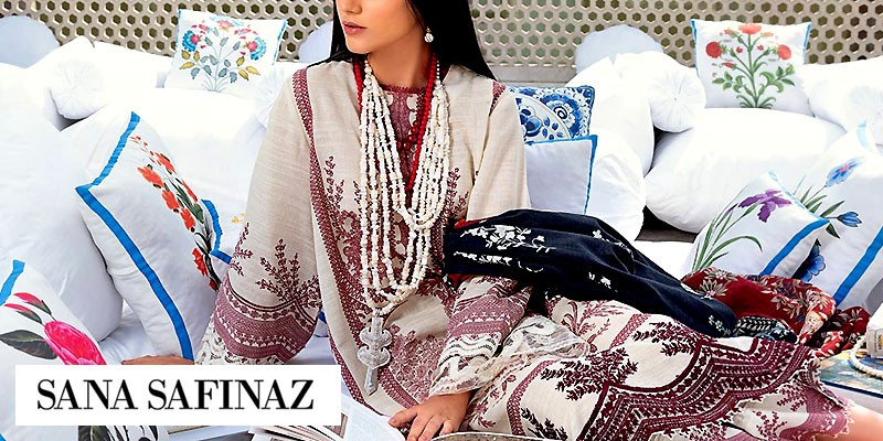 Sana Safinaz Mahay Winter Collection 2020-21