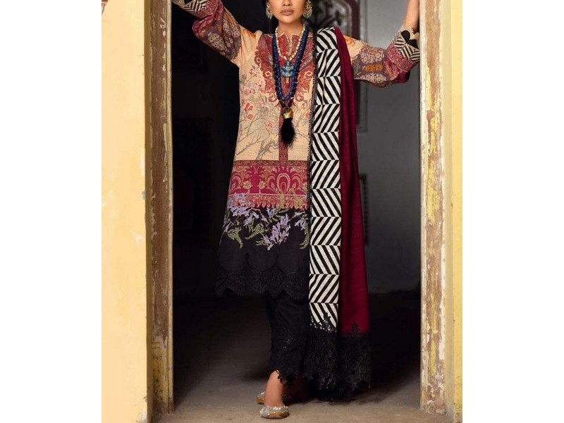 Digital Printed Stitched Kurti D-08
