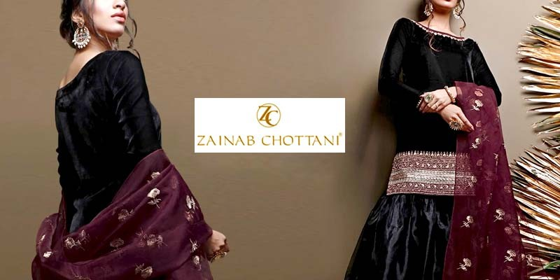 Zainab Chottani Formal Velvet Winter Collection 2021