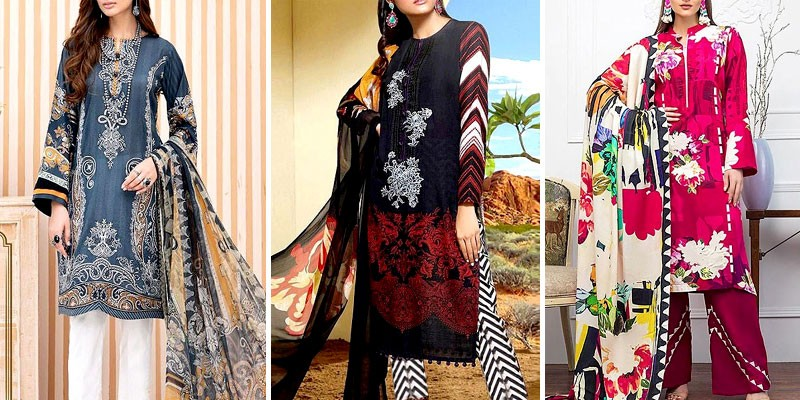 Winter Khaddar Dresses 2020-21 in Pakistan