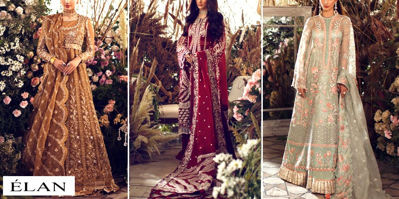Elan Luxury Bridal & Wedding Dresses Collection 2021