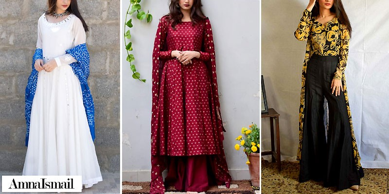 Amna Ismail Semi Formal Dresses Collection 2021