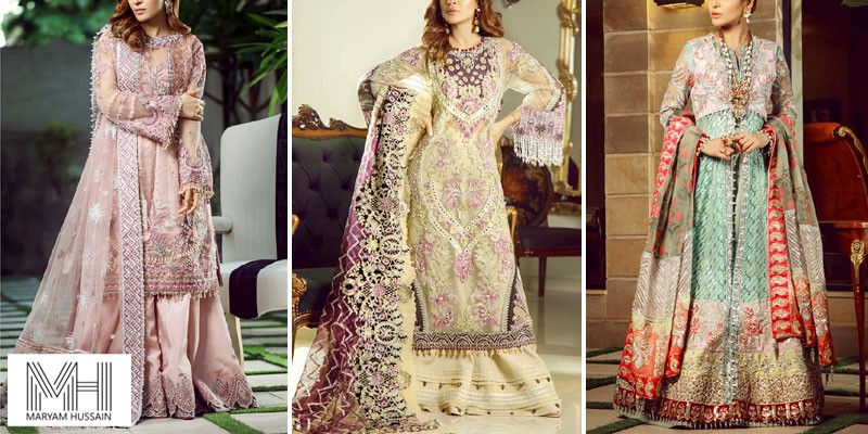 Maryam Hussain Luxury Wedding Collection 2021